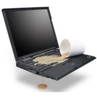 залит ноутбук